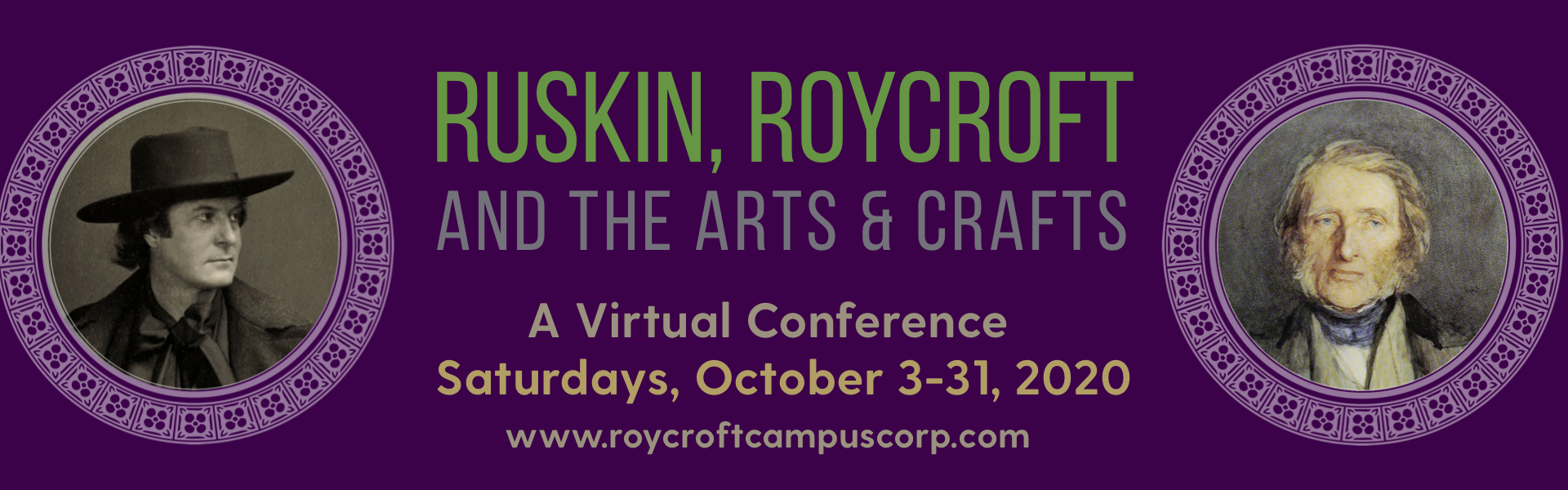 Ruskin Conference Banner