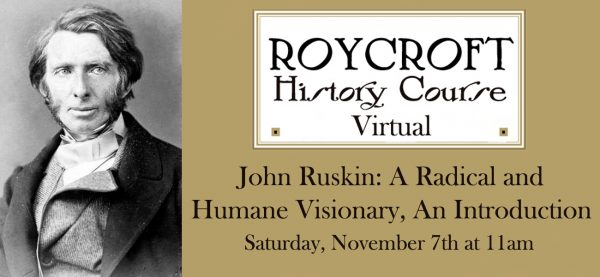 Ruskin - History Course Fall 2020