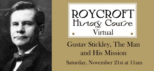 Stickley - History Course Fall 2020