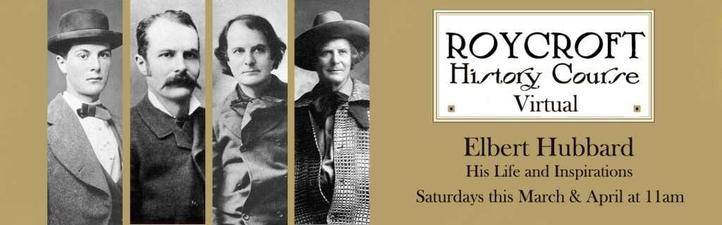 Roycroft History Course - Spring 2021